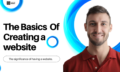 The Basics of creating website Course Thumbnail