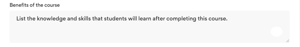 course_benefit
